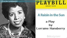 what is the key theme of a raisin in the sun famous plays playwrights lesson plans videos lessons