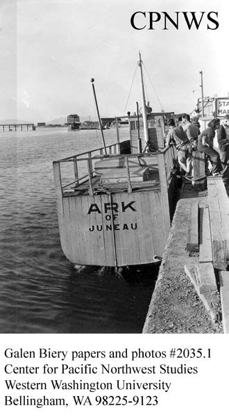 ark boat id number cpnws biery galen papers and photographs