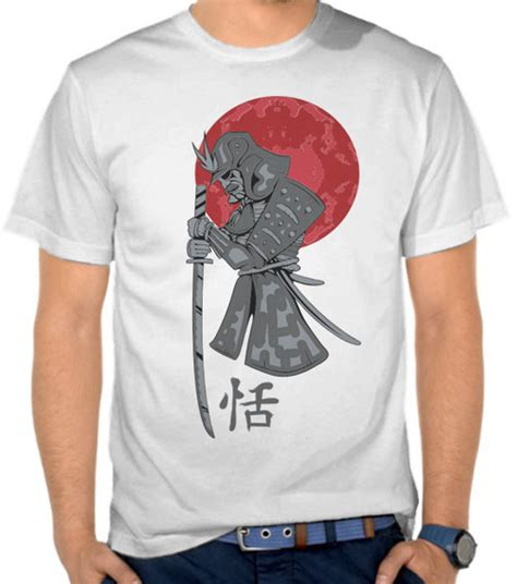 jual kaos samurai bela diri satubaju