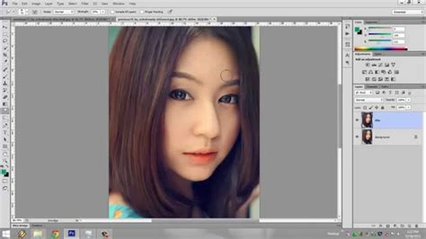 tutorial smudge painting photoshop cs6 smudge painting tutorial belajar smudge langsung mahir