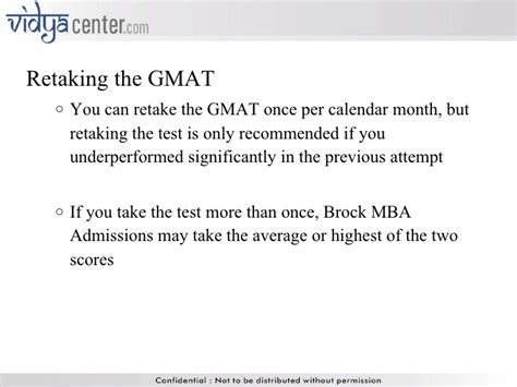 Mba That Accept Gmat 550 by Gmat Ppt