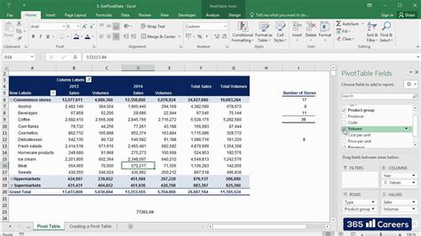 why we use pivot table in excel how to use getpivotdata in excel 2016 pivot tables excel