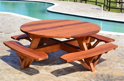 21 Wooden Picnic Tables: Plans and Instructions   Guide