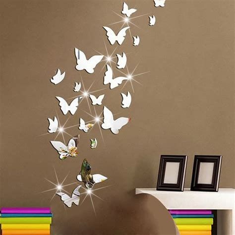 butterfly mirror wall stickers 25 best ideas about butterfly wall decor on