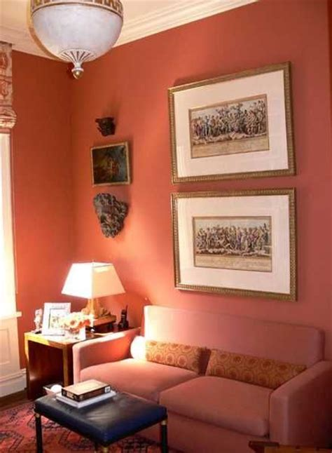 matching paint colors for living room terracotta orange colors and matching interior design