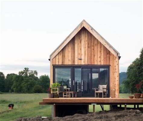 tiny house vacations tiny cabin vacation on organic farm near portland