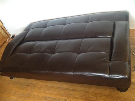 fold down couch fold down couch matching storage bench central regina