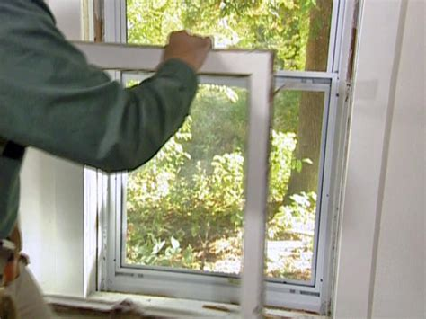 How To Remove A Screen Door by How To Install A Window Sash Replacement Kit How Tos Diy