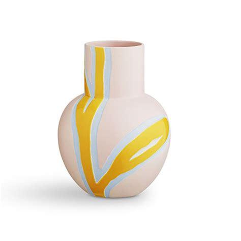 kæhler vase stine goya vase fiora vase i pink fra k 228 hler