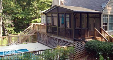 Floor Plans With Porches by Convert Deck To Screened Porch