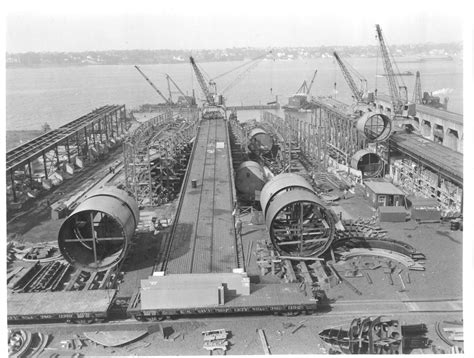 submarines being built at the victory yard extension of - Electric Boat Victory Yard
