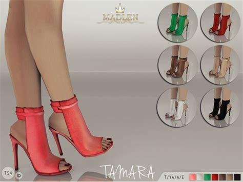 sims 4 shoes the sims resource the sims resource madlen tamara boots by mj95 sims 4