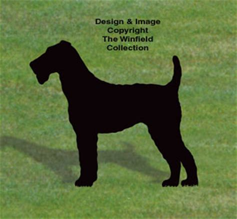 yard garden projects airedale terrier shadow wood