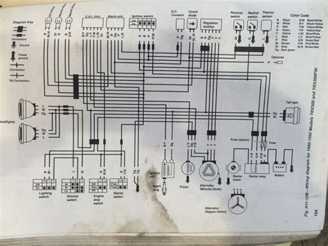 wiring diagram 1998 honda cr250 1998 honda motorcycle