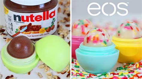 Nutella Lip Balm By Shoppasoap diy eos de nutella y cupcake balsamo karla