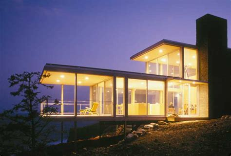 Koehler House New Brunswick Residence Bay Of Fundy Home E Architect