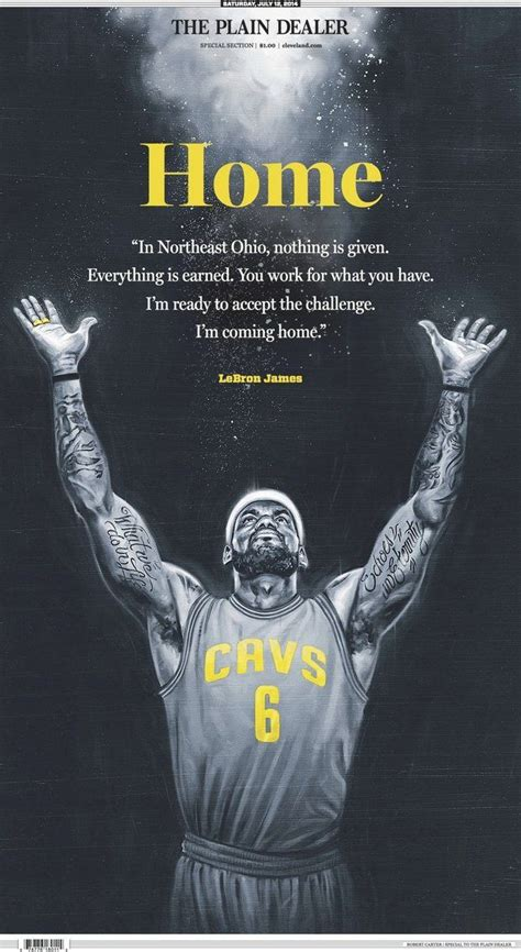 homecoming king lebron says i m coming home will