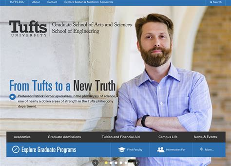 Tufts Mba Engineering by Graduate School Of Arts And Sciences And School Of