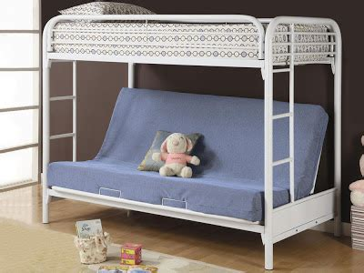 futon metal bunk bed fordham white best furniture