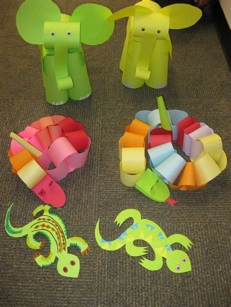 august crafts at our august paper craft program for children we escaped