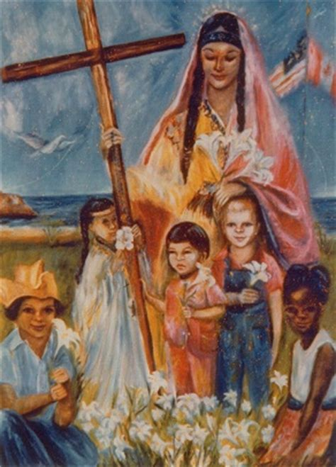celebrate blessed kateri s canonization with kids read about kateri tekakwitha lily of the mohawks