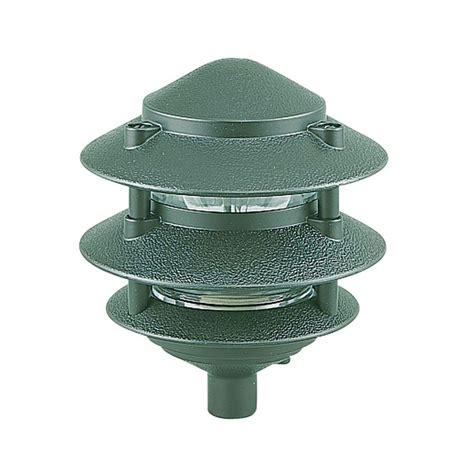 Sustainable Light Fixtures Sea Gull Lighting 1 Light Emerald Green Landscape Path Fixture 9226 95 The Home Depot