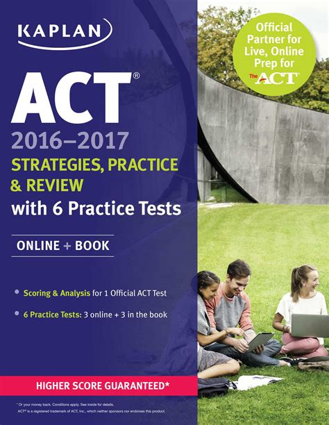 act book 2017 act 2016 2017 strategies practice and review with 6