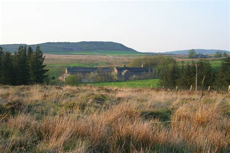 black brook nature reserve the farm in the middle of the photograph is called gib torr the