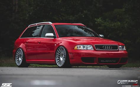 audi rs4 b5 tuning stanced audi rs4 b5 187 cartuning best car tuning photos