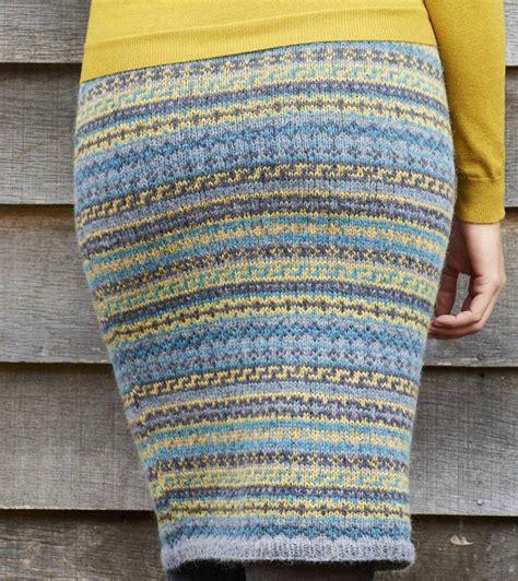 knitting fair isle fair isle skirt knitting pattern free