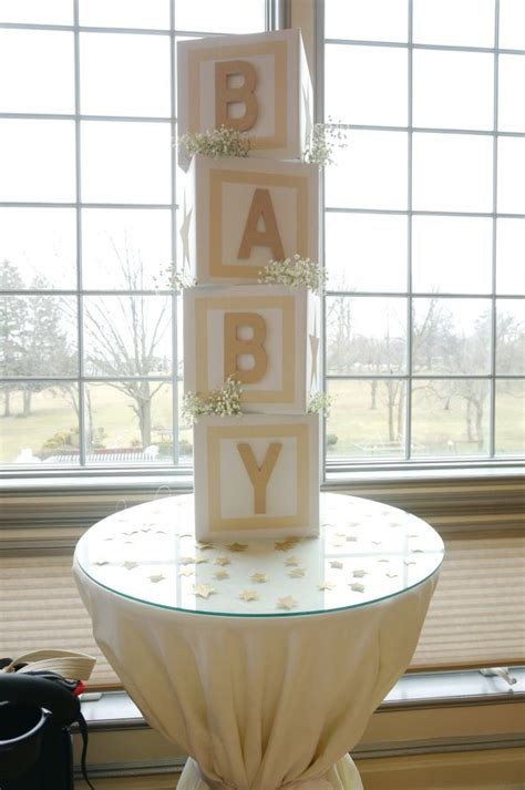 Rent Letters For Baby Shower 25 Best Ideas About Baby Blocks On Baby Shower Crafts Baby Shower Centerpieces And