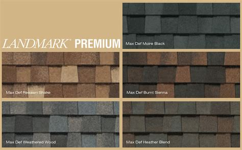 landmark shingles colors composition roofing from d hughes roofing installation