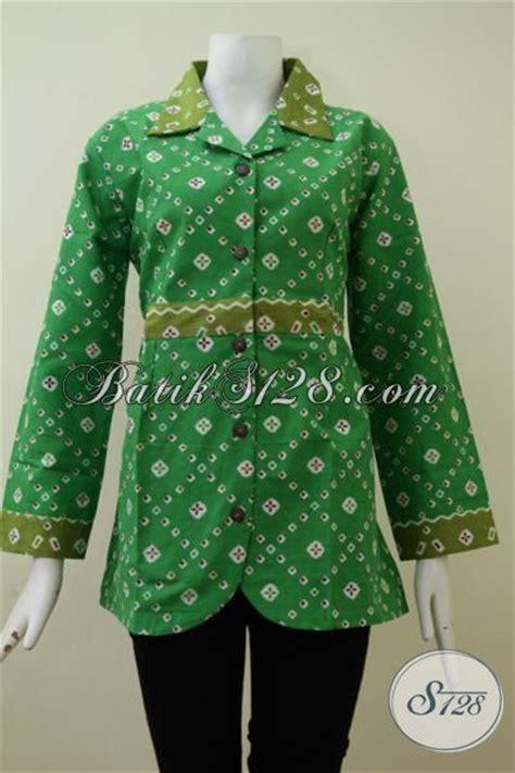 Grosir Batik Murah Batik Print Hm 95 model blouse batik lengan panjang terbaru the blouse