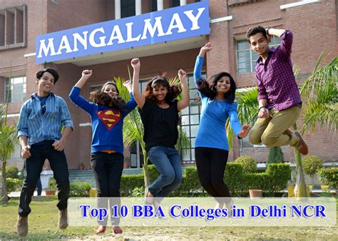 Mba Bba Colleges Delhi by Top 10 Bba Colleges In Delhi Ncr Mangalmay Institutions