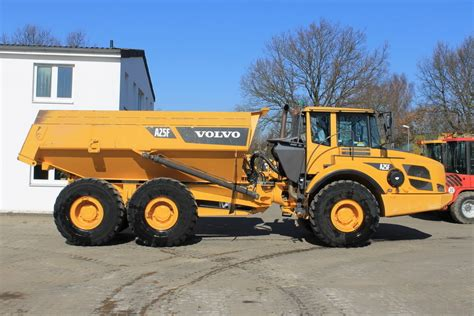 volvo a 25f rigid dumper rock truck from for sale
