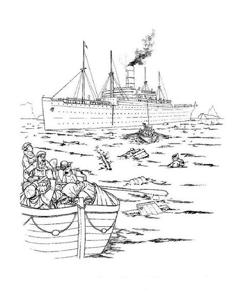 pages rms coloring titanic passesners coloring pages