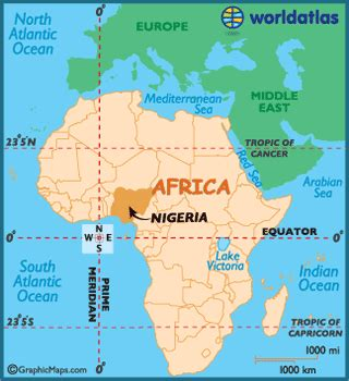 nigeria on a world map nigeria map geography of nigeria map of nigeria