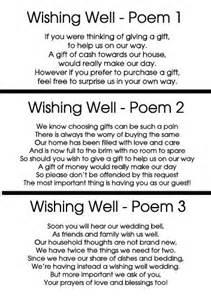25 best ideas about wishing well poems on wishing well wedding wedding invitation