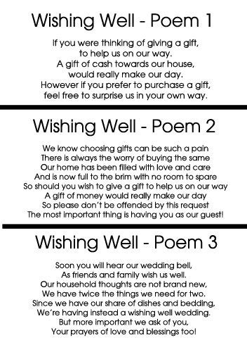 wishing well poems for bridal shower invitations 25 best ideas about wishing well poems on wishing well wedding wedding invitation