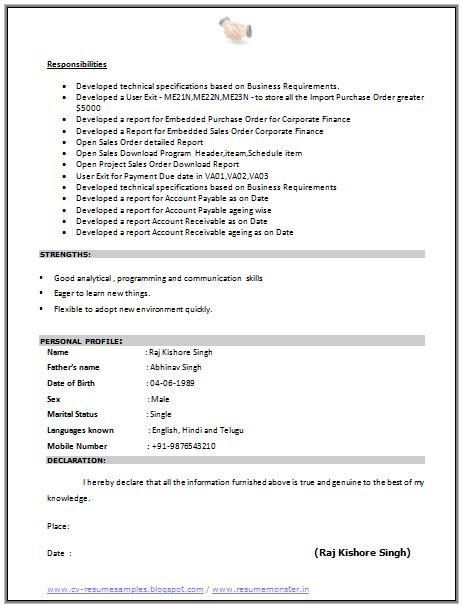 declaration in resume sle pretty resume declaration statement format pictures