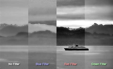 how to use photographic filters to create better photographs
