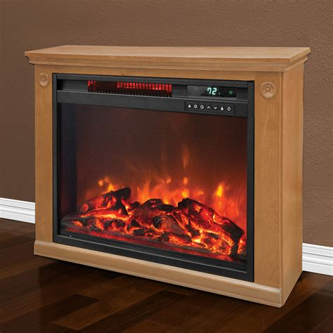 lifesmart electric fireplace lifesmart 1500 watt large infrared quartz electric