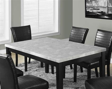 Square Marble Dining Table Ways To Pick The Right Color Black And White Marble Dining Table