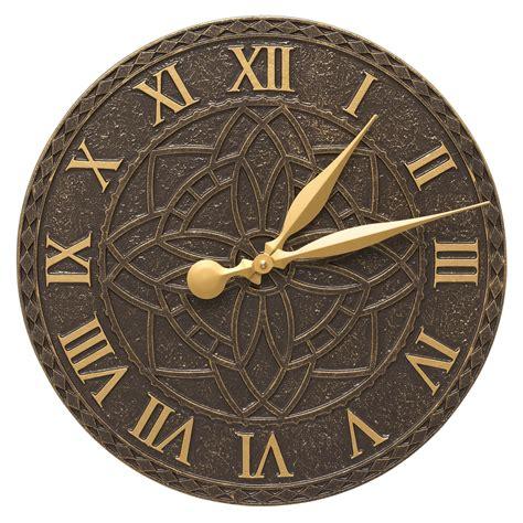 artisan indooroutdoor wall clock