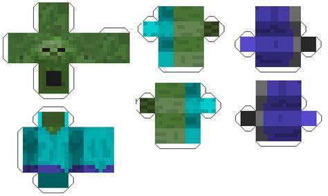 Paper Crafts Minecraft - mob minepapercraft