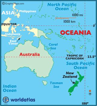 Where Is New Zealand On A World Map by Map Of New Zealand New Zealand Map Geography Of New