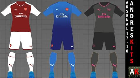 arsenal pes 2018 arsenal 2017 2018 kits pes 2017