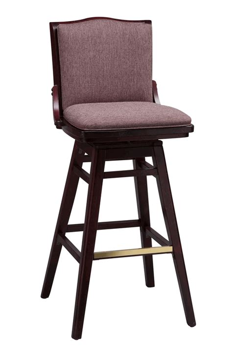 commercial swivel bar stools with backs regal seating series 454 commercial wooden swivel bar