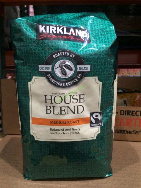 Kirkland Signature Starbucks House Blend Coffee 2 Pound Bag ? CostcoChaser