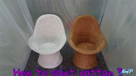 Youtube Lackieren Spraydose by How To Paint Rattan Furniture Rattan M 246 Bel Lackieren